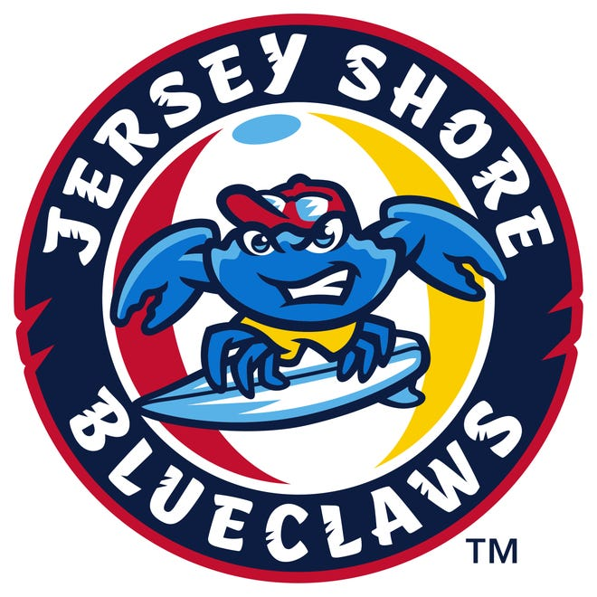 Jersey Shore BlueClaws logo